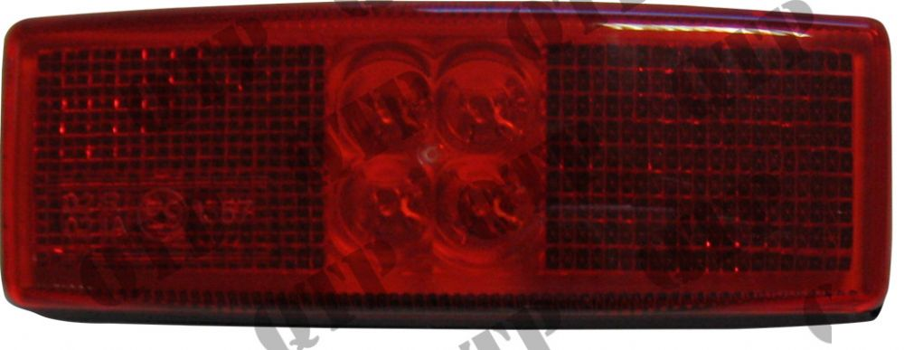 Side Marker Lamp Red C/O Plugs
